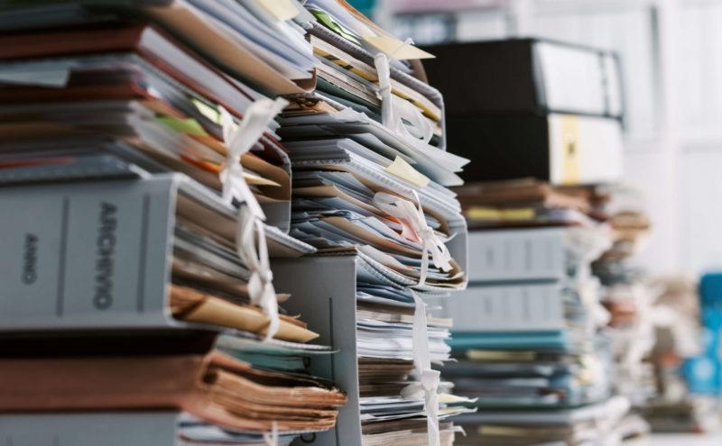 Das digitale Archiv schafft Platz